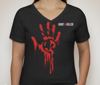 "Picture of Hunt A Killer: ""I Hunt Serial Killers"" Women's V-Neck Shirt"